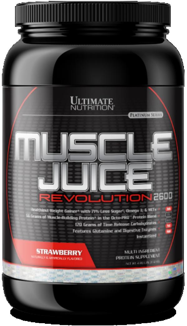 Muscle Juice Revolution 2600, Jagoda, 2,1 kg