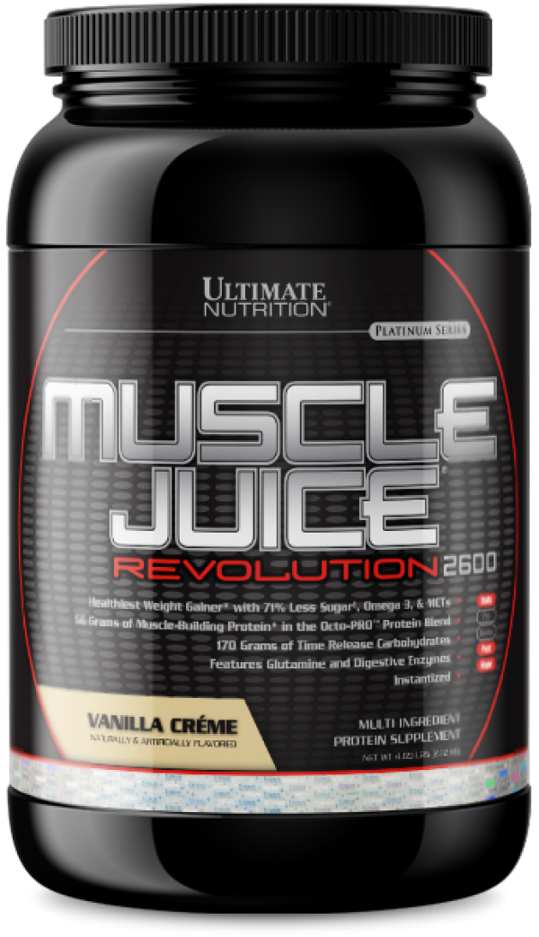 Ultimate Nutrition Muscle Juice Revolution 2600, Vanila, 2,1 kg