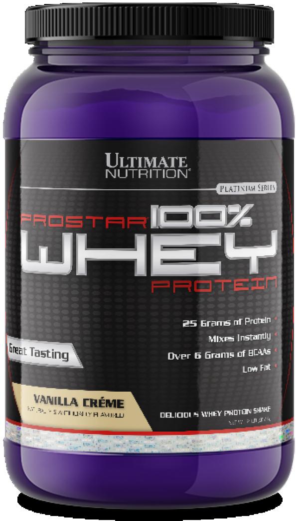 Ultimate Nutrition - 100% Whey Prostar, Vanila, 907 g