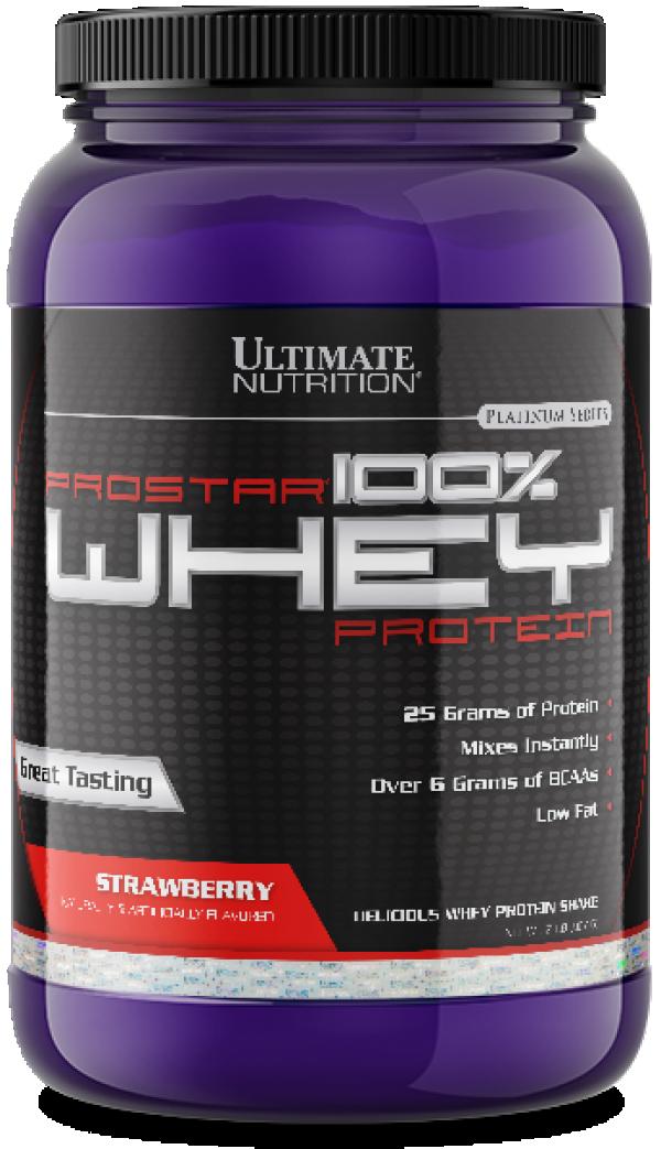 100% Whey Prostar, Jagoda, 907 g