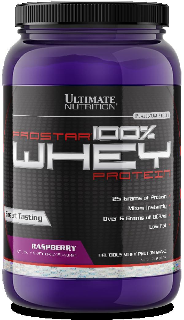 100% Whey Prostar, Malina, 907 g