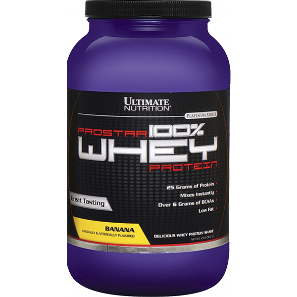 Ultimate Nutrition - 100% Whey Prostar, Banana, 907 g