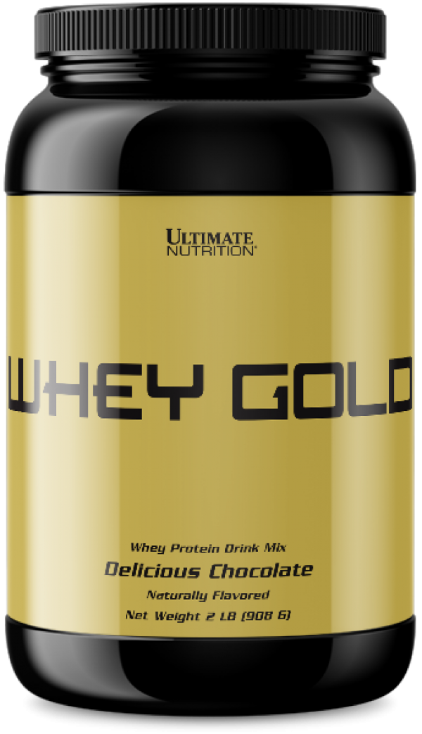 Ultimate Nutrition Whey  Gold, Čokolada, 908 g