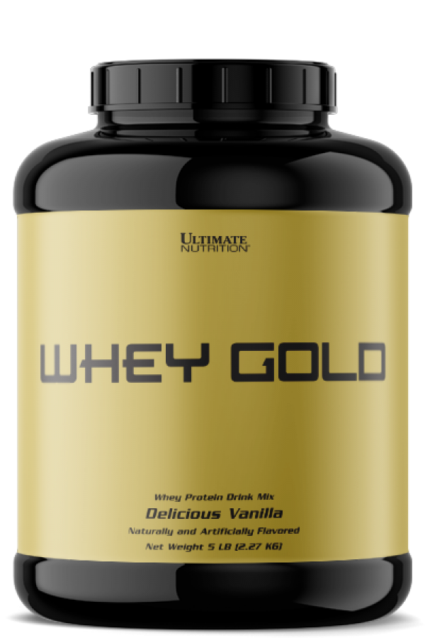 Ultimate Nutrition Whey  Gold, Vanila, 2,27 kg
