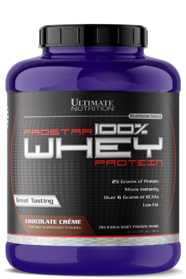 Ultimate Nutrition 100%  Whey Prostar, Čokolada, 2,39 kg