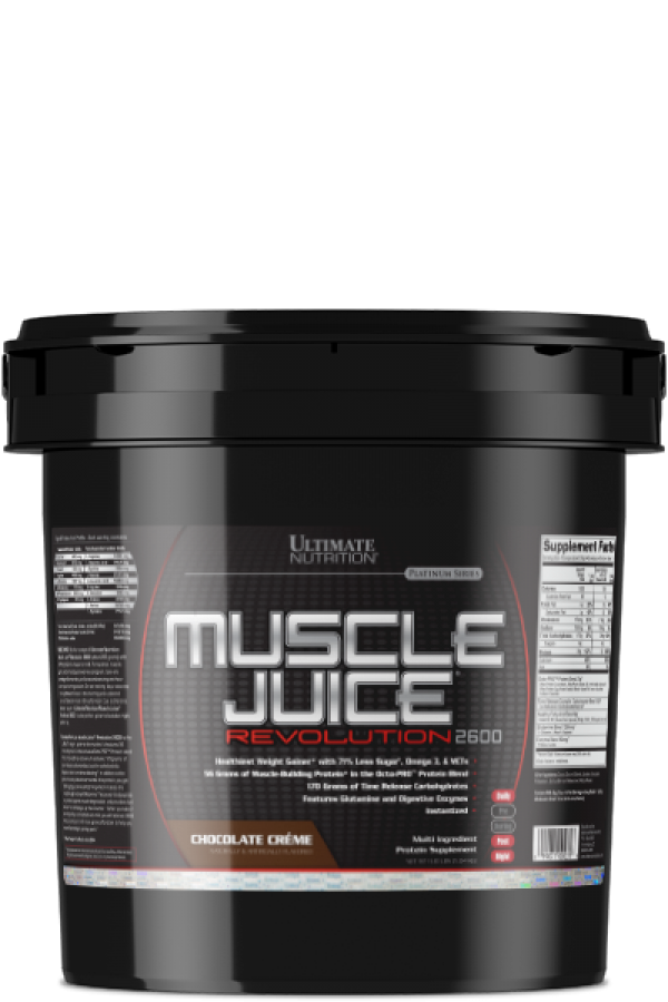 Muscle Juice Revolution 2600, Čokolada, 5kg