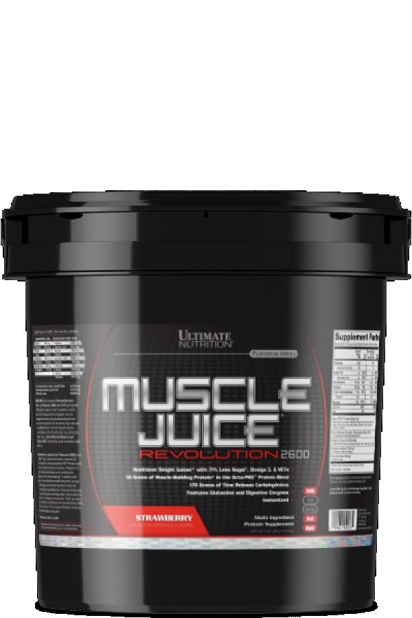 Muscle Juice Revolution 2600, Jagoda, 5kg