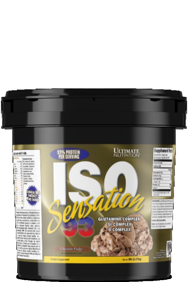 Ultimate Nutrition Iso  Sensation 93, Čokolada, 2,2kg