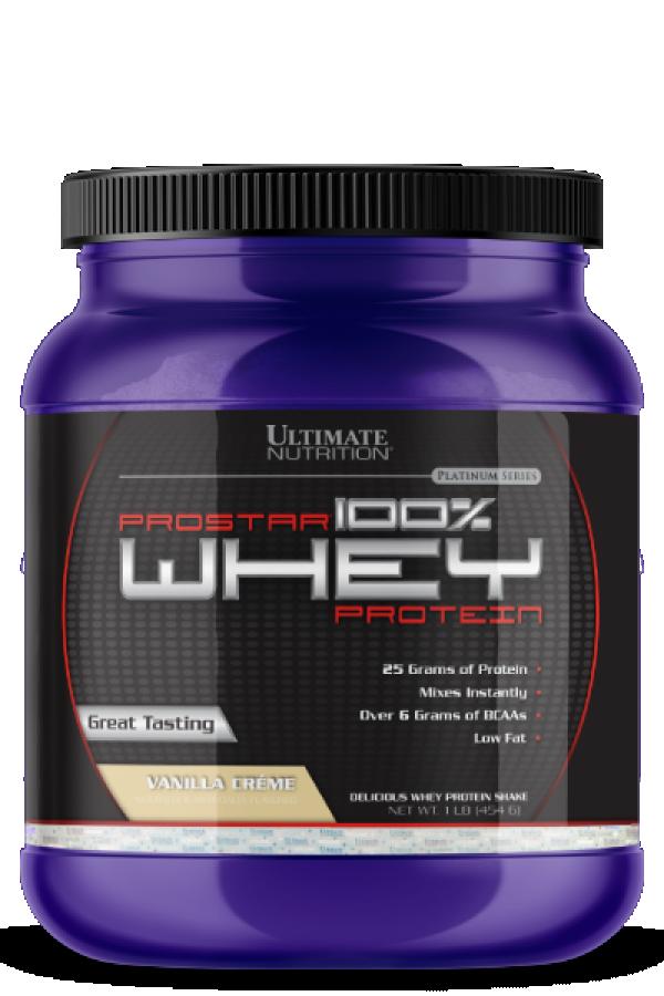 Ultimate Nutrition 100% Whey Prostar, Vanila, 454 g