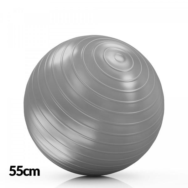DF Lopta za Pilates 55cm Siva