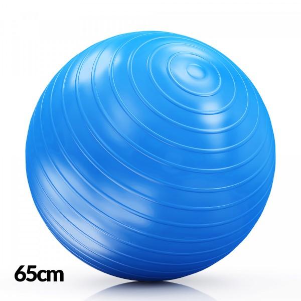 DF Lopta  za Pilates 65cm Plava
