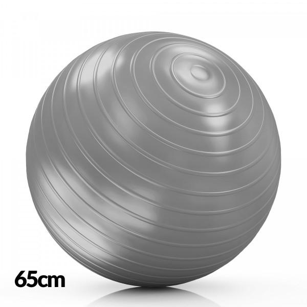 DF Lopta  za Pilates 65cm Siva