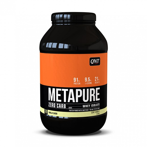 Metapure Zero Carb, Vanila, 908 g