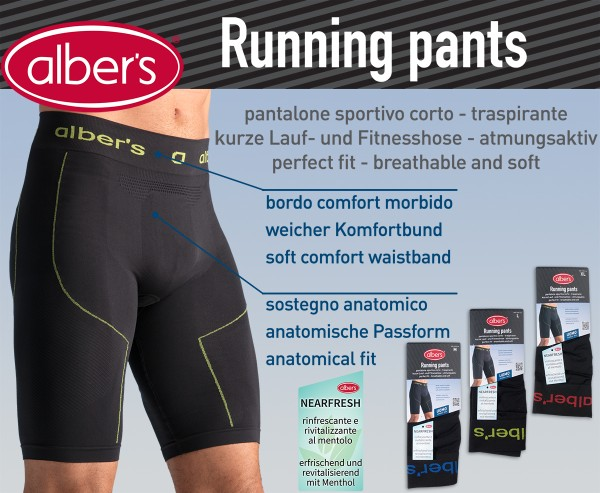 Albers Running Pants Zute XL