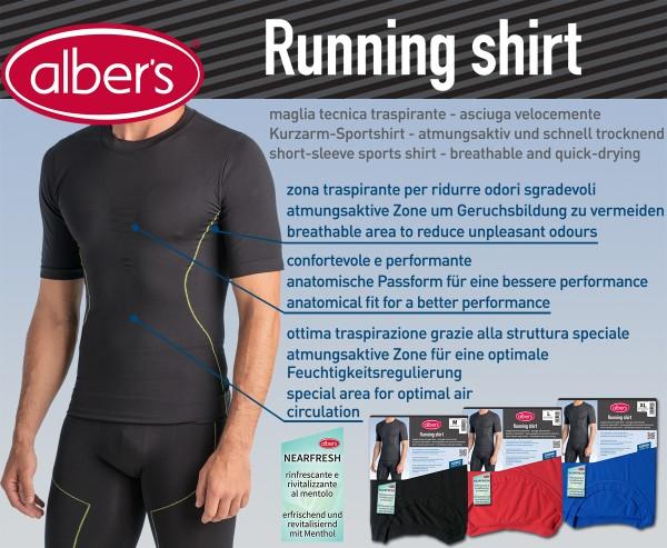 Albers Running Shirt Crna M
