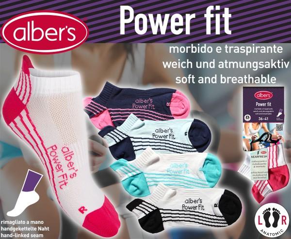 Albers Power Fit Carape 36-41