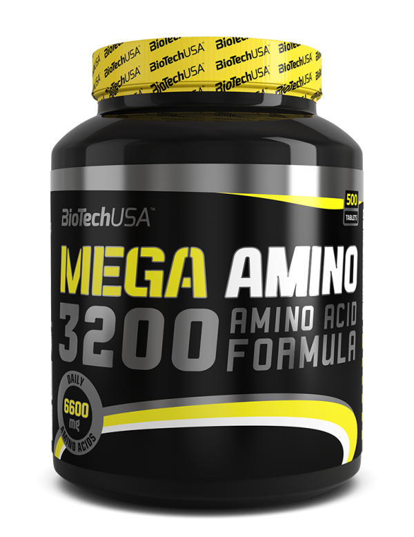 Mega Amino 3200, 500 tbl
