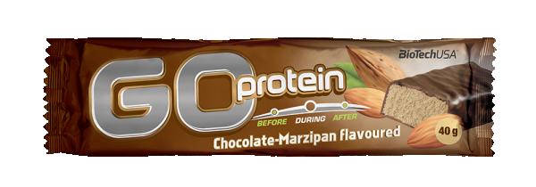 Go Protein Bar, Čokolada-marcipan, 40 g