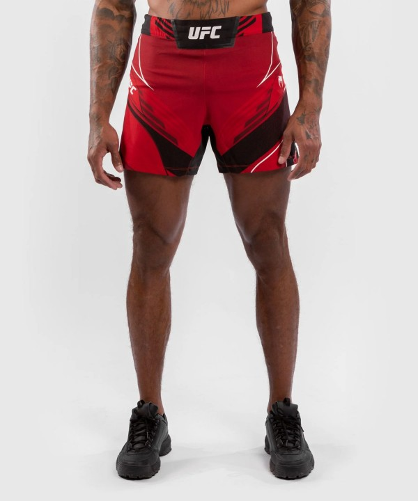 Venum UFC Authentic Fight Night Muški Šorc Kratki Crveni - XL