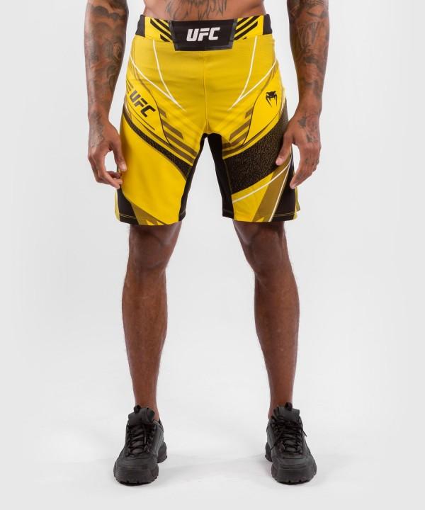 Venum UFC Authentic Fight Night Muški Šorc Dugi Žuti - XL