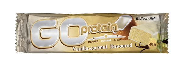 Go Protein Bar, Vanila-kokos, 40 g